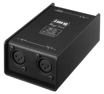 IMG STAGE LINE MC-31, Mikrofon-Combiner