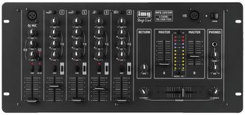 IMG STAGE LINE MPX-205/SW, Stereo-Mischpult