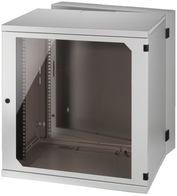 MONACOR RACK-12WP, Wandgehaeuse, 12HE