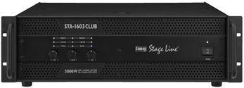 IMG STAGE LINE STA-1603CLUB, Verstaerker 2x320 W + 1 x 850 W RMS an 4Ohm