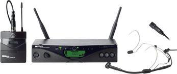 AKG WMS470 Presenter Set - 823-832 MHz, B10  Funkmikrofon-Set für Präsentationen, Moderationen und Theateraufführungen.