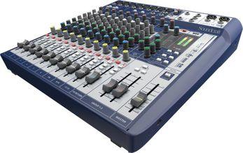 Soundcraft Signature 12   Kompaktes 12-Kanal Mischpult