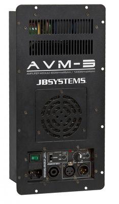 JB Systems - AVM-3   Klasse-D-Verstärkermodul zum Einbau in Lautsprecher der VIBE Mk2 Serie. (VIBE-8 MkII VIBE-10 MkII & VIBE-12 MkII)