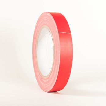 Adam Hall Accessories 58064 RED - Gaffer Klebeband rot 19mm x 25m