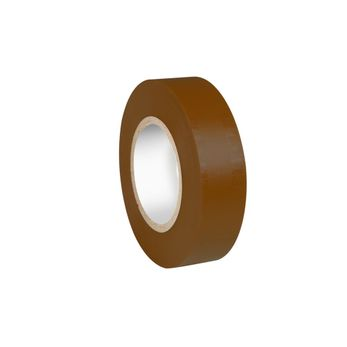Adam Hall Accessories 580813 BRN - Isolierband 0,13 x 19 mm x 20 m braun