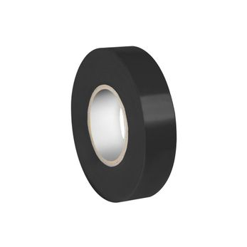 Adam Hall Accessories 580819 BLK - Isolierband 0,19 x 19 mm x 20 m schwarz