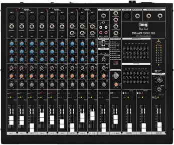 IMG Stage Line PMX-64FX, Powered Mixer