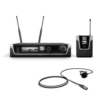 LD Systems U505 BPL - Funkmikrofon System mit Bodypack und Lavalier Mikrofon