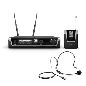 LD Systems U508 BPH - Funkmikrofon System mit Bodypack und Headset