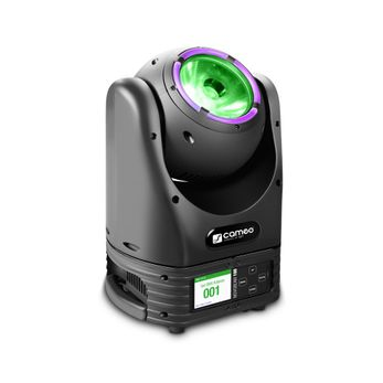 Cameo MOVO® BEAM 100 - Beam Moving Head mit LED-Ring und Endlos-Drehung