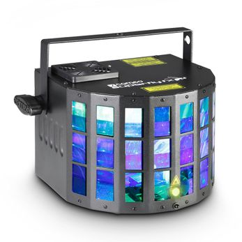 Cameo SUPERFLY FX - 2-in-1 LED Derby Effekt mit Grating Laser