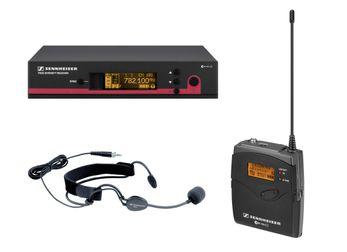 Sennheiser EW 152 G3 E Funksystem, ME 3 Headset, SK 100 G3, EM 100 G3 inkl. Netzteil, E-Band 823-865MHz