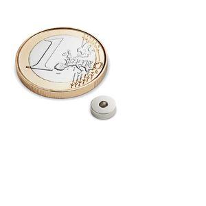 Magneti ad anello Ø 6-2x2 mm nichel – neodimio – Bild 1