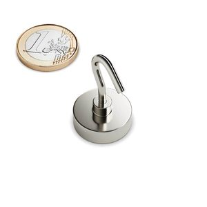 hook magnet Ø 20 mm – neodymium 001