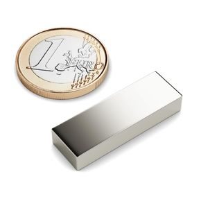 cuboid magnet 18x15x10 mm nickel plated - neodymium – Bild 1
