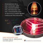 Mata Leon LED Untersetzer Beam Up 20 cm 001
