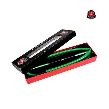 Amy Deluxe S237 Silikonschlauch-Set mit Bicolor-Alu-Mundstück - Grün – Bild 1