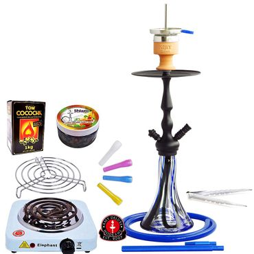 Amy Deluxe Lady on Fire Shishas, 60 cm, Premium-Bundle – Bild 5