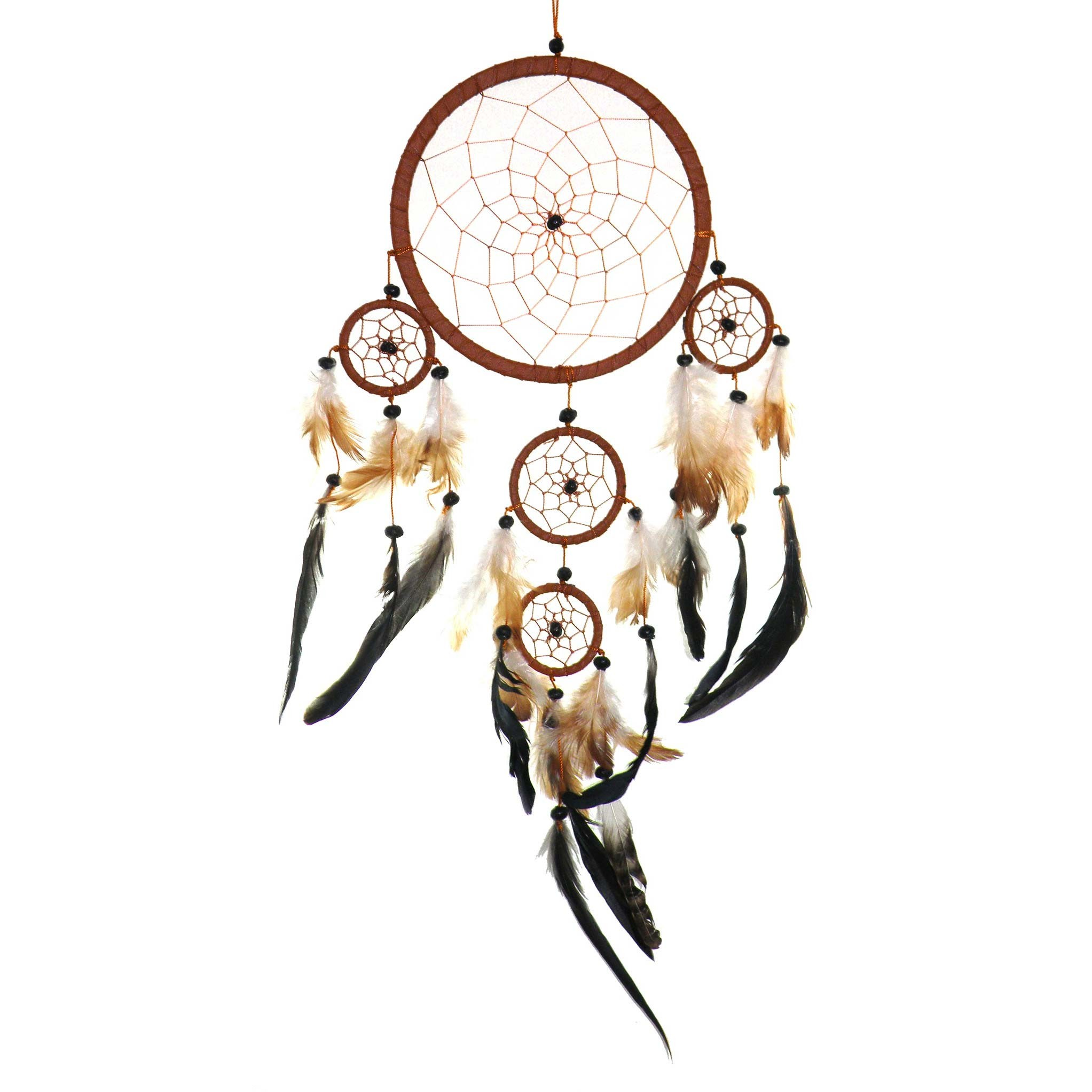 traumf nger dreamcatcher happy dreams 16 cm 4 x. Black Bedroom Furniture Sets. Home Design Ideas