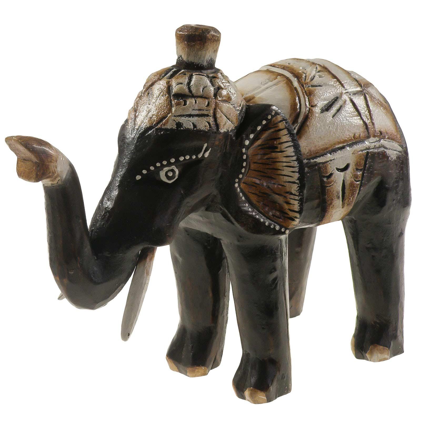 1 Elefant SABI aus Albesia-Holz, Deko-Elefant, ca. 20 cm – Bild 2