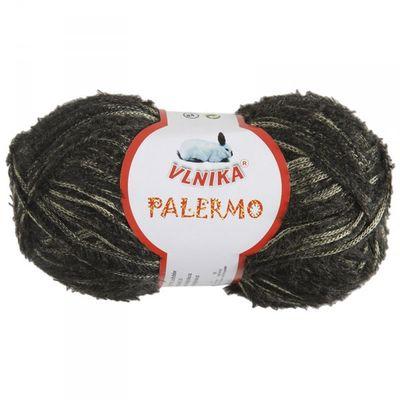Trend-Strickgarn PALERMO by VLNIKA 50g No. 15 oliv-gold
