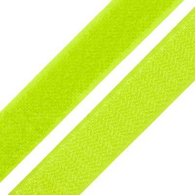Klettband zum Annähen 20mm - neon gelb