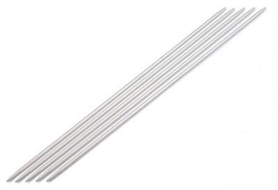 Metall Nadelspiel Strumpfstricknadeln 5-teilig Gr. 4,5 Sockenstricknadeln – Bild 1