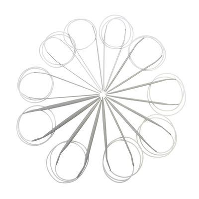 1 Aluminium-Rundstricknadel 2,5mm x ca 80cm Metall-Stricknadel Alu-Stricknadel – Bild 2