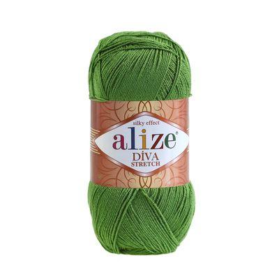 Strickgarn ALIZE Diva Stretch 8% Elastan 100g, freie Farbwahl – Bild 3
