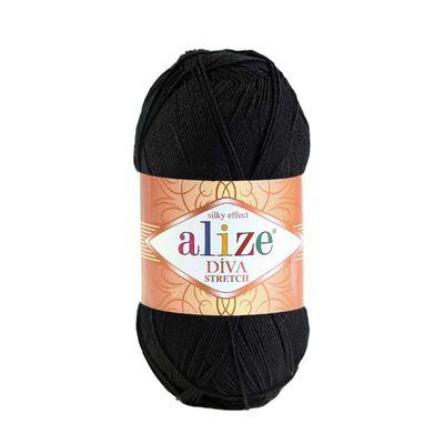 Strickgarn ALIZE Diva Stretch 8% Elastan 100g, freie Farbwahl – Bild 5