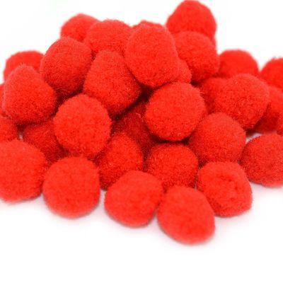 100 Pompons, 15mm, kreativ zum Basteln, verschiedene Farben oder Farbmix – Bild 8