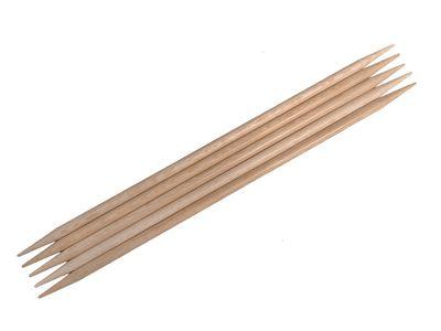 HANDSCHMEICHLER! Nadelspiel echtes Rosenholz, 20cm lang, 5mm