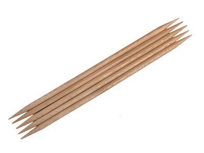 Handschmeichler! Nadelspiel echtes Rosenholz, 20cm lang, 5,5mm