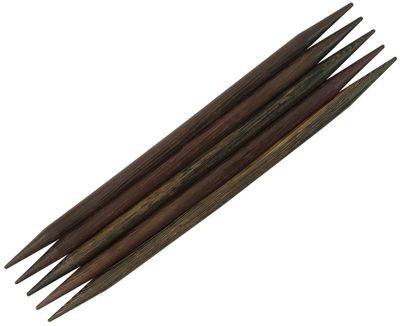Handschmeichler! Nadelspiel aus wunderschönem Robleswood, 15cm lang, 6mm