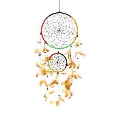 Traumfänger - Dreamcatcher: Vier Elemente, Länge 45 cm, Indianer, Mythologie