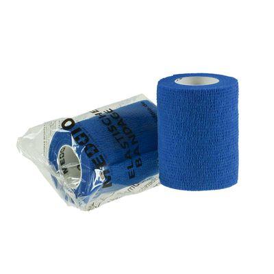 1 Haftbandage Selbsthaftende Bandage / Fixierbinde 7,5 cm x 4,5 m blau