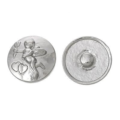 """Wechsel - Chunks / Click Buttons """"Engelchen"""" (1 Stück), Knauf ca. 5,5mm"""