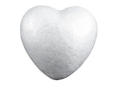 20 Styropor-Herzen, Herz Vollform 4,4x4,7cm Styropor-Rohling Herzform – Bild 1