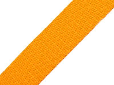1 Meter Gurtband, 30mm, mango