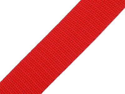1 Meter Gurtband, 30mm, rot – Bild 1