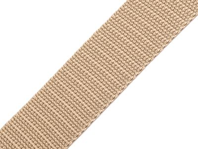 1 Meter Gurtband, 30mm, goldbeige
