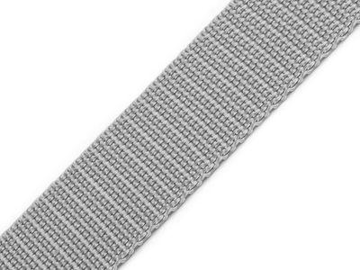 1 Meter Gurtband, 30mm, hellgrau