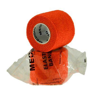 1 Haftbandage Selbsthaftende Bandage / Fixierbinde 5cm x 4,5m, orange