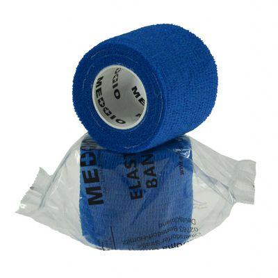 1 Haftbandage Selbsthaftende Bandage / Fixierbinde 5cm x 4,5m, Blau