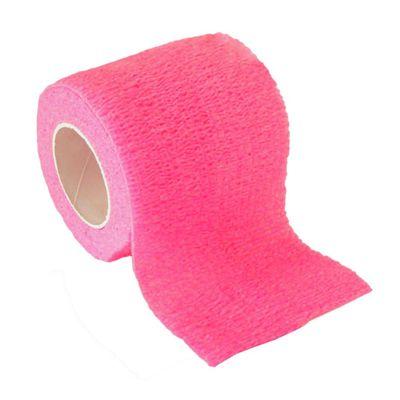 1 Haftbandage Selbsthaftende Bandage / Fixierbinde 5cm x 4,5m, Pink