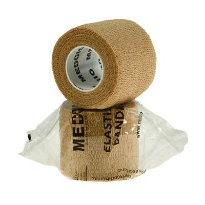 1 Haftbandage Selbsthaftende Bandage / Fixierbinde 5cm x 4,5m, Skin/Beige