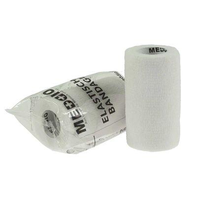 1 Haftbandage Selbsthaftende Bandage / Fixierbinde 10 cm x 4,5 m weiß