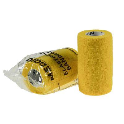 1 Haftbandage 10 cm x 4,5 m sonnengelb Selbsthaftende Bandage / Fixierbinde