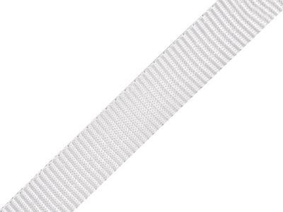 1 Meter Gurtband, 15mm, weiß