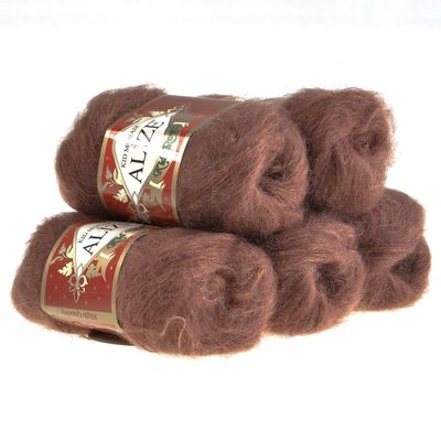 Strickgarn ALIZE KID ROYAL, 50g, 305 braun – Bild 2